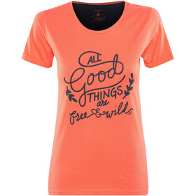 Triple2 Laag Handwrite - T-Shirt Femme - T-Shirt Women rouge